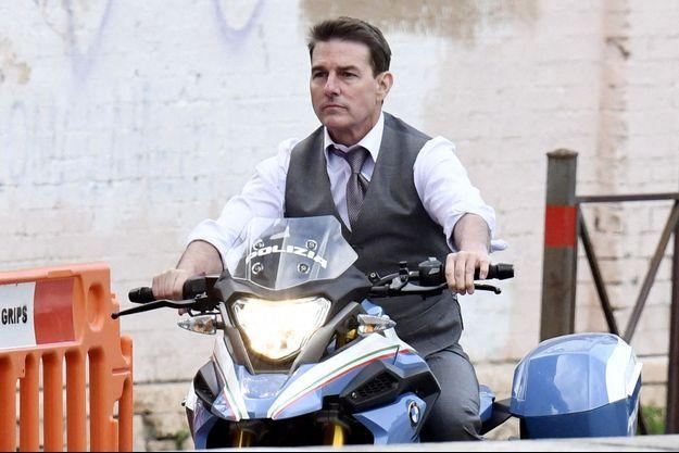 """Tom Cruise à Rome le 29 novembre 2020 sur le tournage de """"Mission Impossible 7"""""""