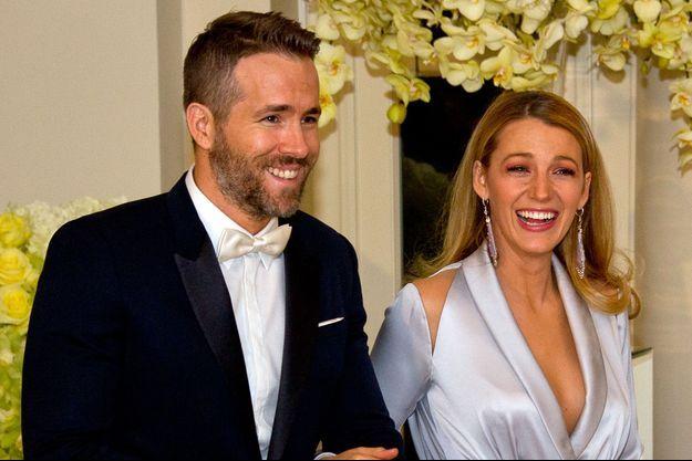 Blake Lively et Ryan Reynolds, invités à la Maison-Blanche