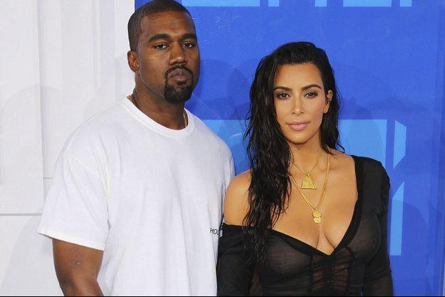 Kim Kardashian et Kanye West.