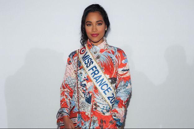 Clémence Botino lors de la Fashion week de Paris en février 2020.