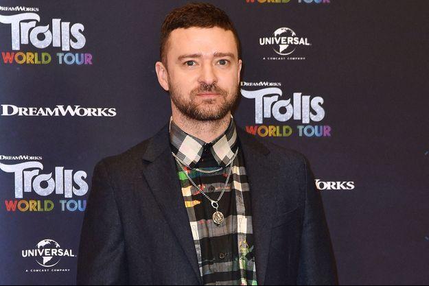 Justin Timberlake à Berlin en février 2020.