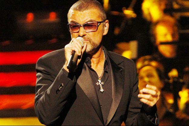 George Michael en concert à l'opéra Garnier à Paris en 2012.