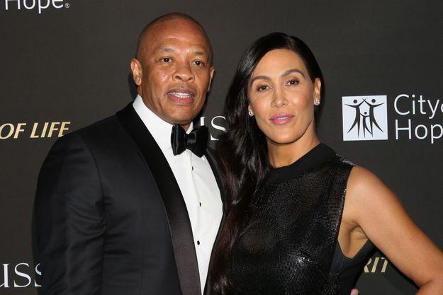 Dr. Dre et Nicole Young en octobre 2018.