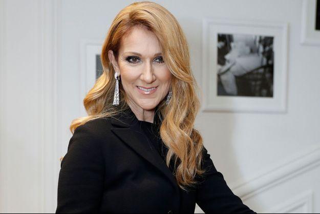 Céline Dion en juillet 2016.