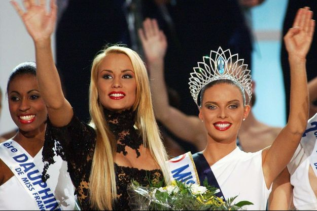 Sandra Bisson, Elodie Gossuin, Sylvie Tellier, élection Miss France 2002