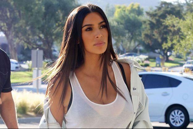 Kim Kardashian à Los Angeles