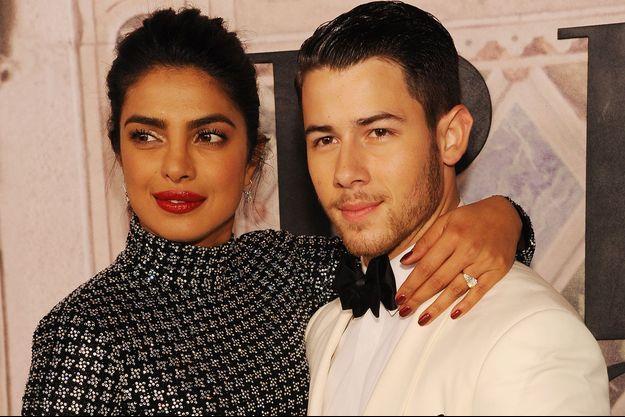 Priyanka Chopra et Nick Jonas à New York en septembre 2018