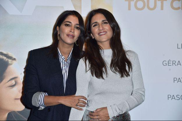 Leïla Bekhti et Géraldine Nakache à Paris en septembre 2019.