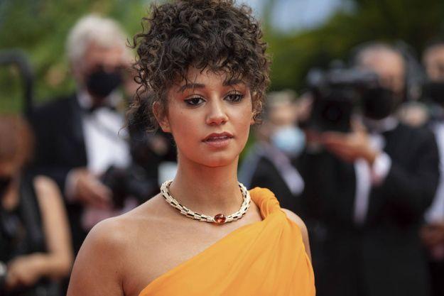 Léna Mahfouf au festival de Cannes le 12 juillet 2021.