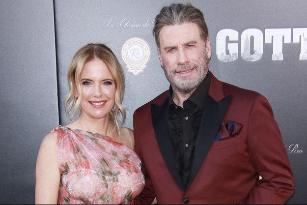 Kelly Preston et John Travolta en 2018