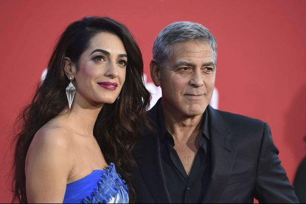 Amal et George Clooney en octobre 2017
