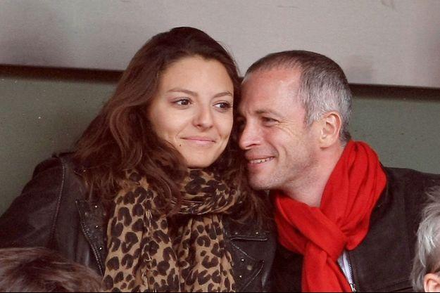 Samuel Etienne et sa femme Helen, en 2010, dans les tribunes de Roland-Garros.