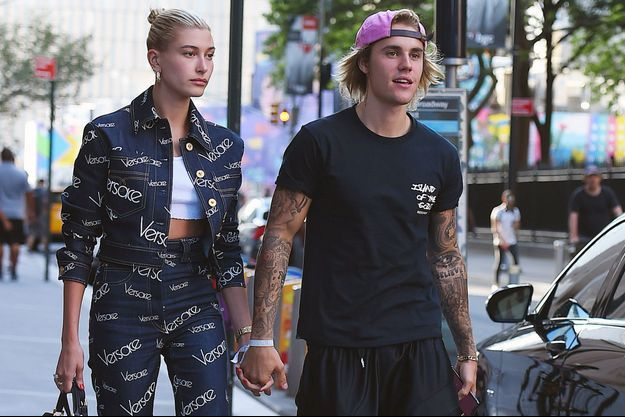Hailey Baldwin et Justin Bieber à Los Angeles, le 5 juillet dernier.