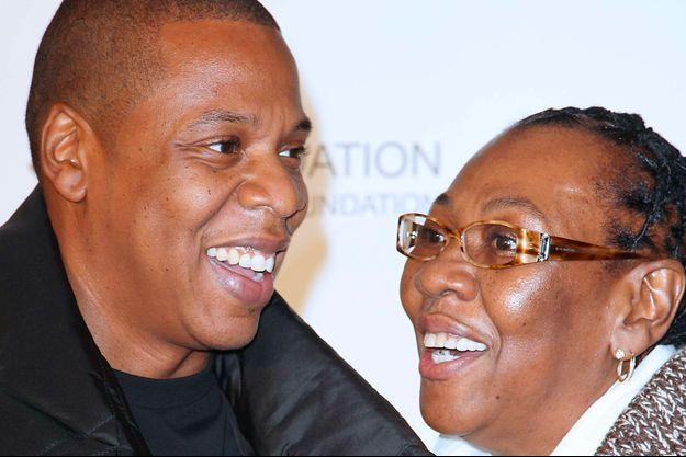Jay-Z et sa mère Gloria Carter en 2011