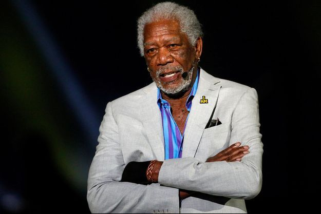 Morgan Freeman, le 8 mai 2018.