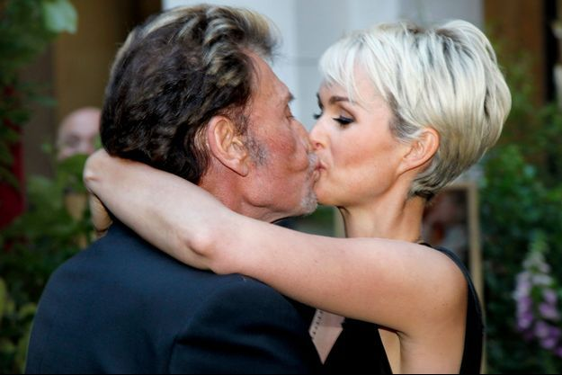 Johnny et Laeticia Hallyday le 23 mai 2011.