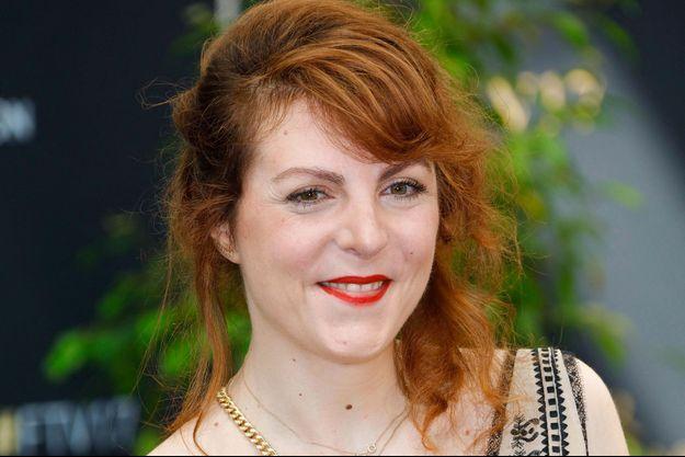 """L'actrice de """"Scènes de ménages"""" Anne-Élisabeth Blateau en 2017."""