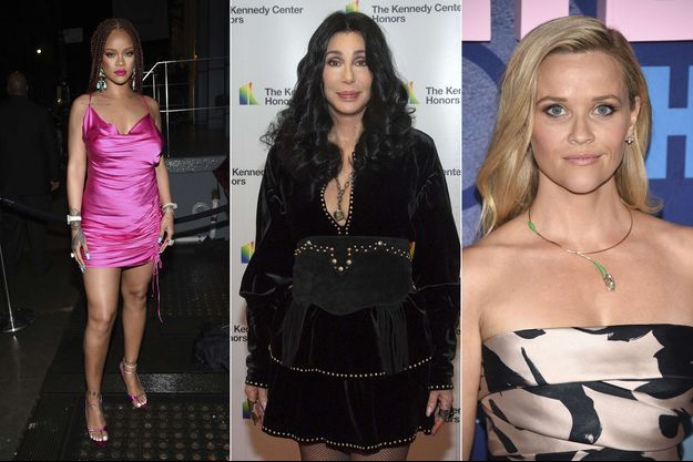 Rihanna, Cher et Reese Witherspoon