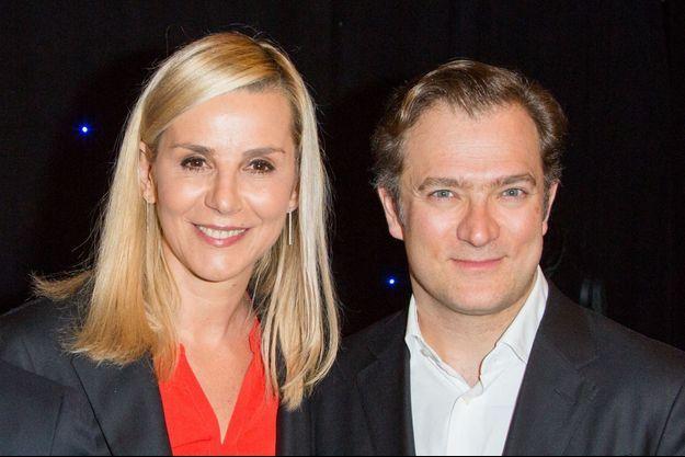 Laurence Ferrari et Renaud Capuçon à Paris en mars 2020