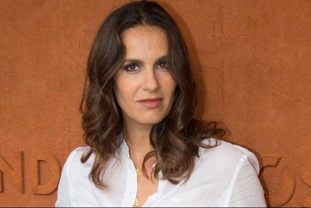 Elisa Tovati à Roland Garros en 2018.