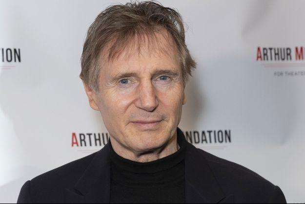Liam Neeson en octobre 2018.