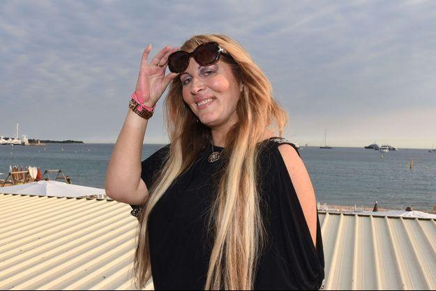 Loana Petrucciani sur la Croisette à Cannes, en mai 2017.