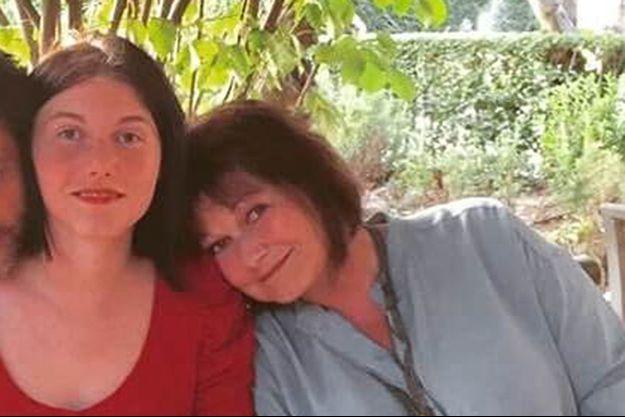 Maurane et sa fille Lou, au temps du bonheur.