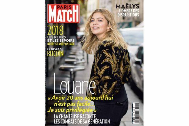 La couverture du numéro 3581 de Paris Match