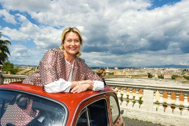 « Rome, c'est la ville de mon enfance et j'y ai appris à cuisiner, grâce à ma mère. Je voulais transmettre cette passion à mon fils Alessandro. »