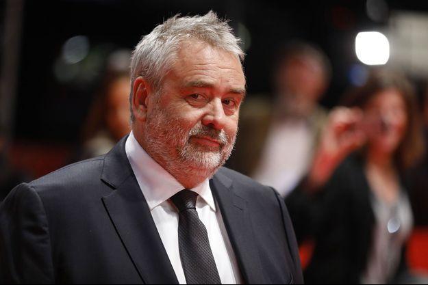 Luc Besson à Berlin, en février 2018.