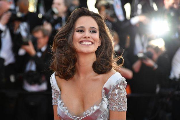 Lucie Lucas, le 20 mai 2017 à Cannes.