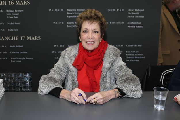 Catherine Laborde à Paris, le 17 mars 2019