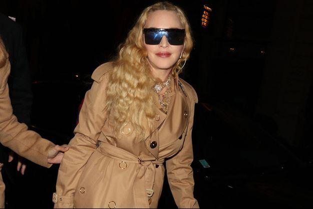 Madonna à Paris en septembre 2018.