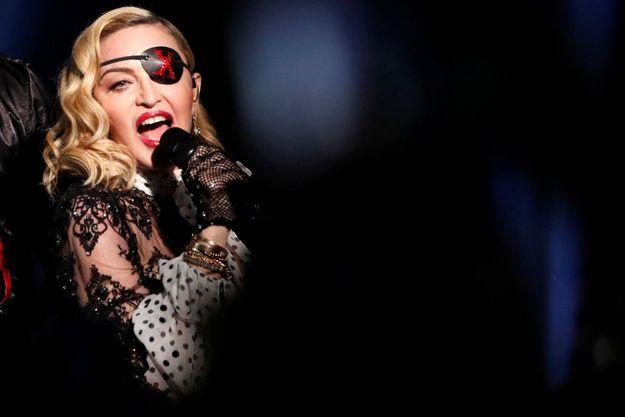 Madonna en juin 2019 aux Billboard Music Awards