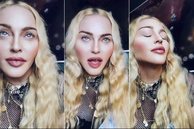 La chanteuse poste régulièrement des photos d'elle qui semblent retouchées à l'excès