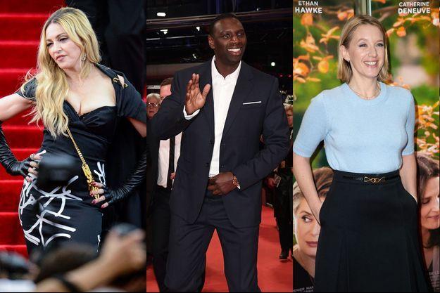 Madonna, Omar Sy et Ludivine Sagnier.