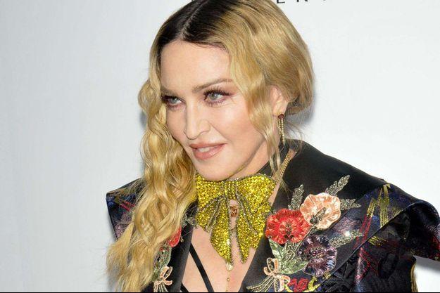 Madonna en décembre 2016.