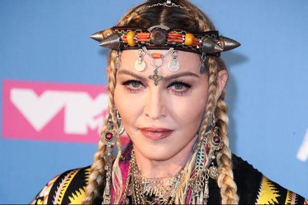 Madonna en 2018.