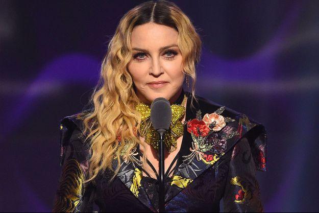 Madonna à New York, le 9 décembre 2016