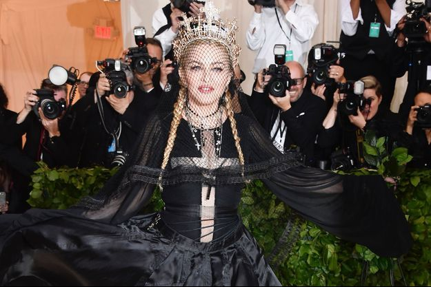 Madonna à New York en mai 2018.