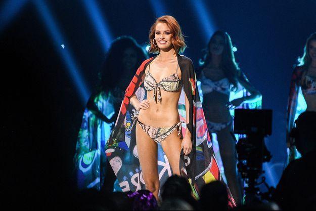 Maëva Coucke lors de l'élection de Miss Univers 2019 à Atlanta le 8 décembre 2019