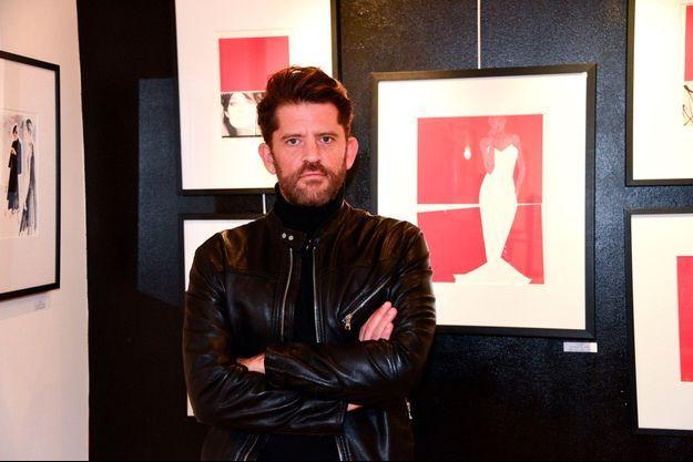 Marc-Antoine Coulon au vernissage de l'exposition Couture, en janvier 2019 à Paris.