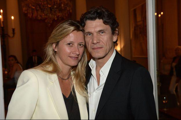 Marc Lavoine et Sarah en 2014.