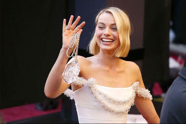 Margot Robbie dans une robe Chanel aux Oscars 2018