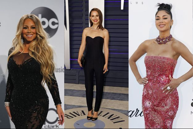 Mariah Carey, Natalie Portman, Nicole Scherzinger