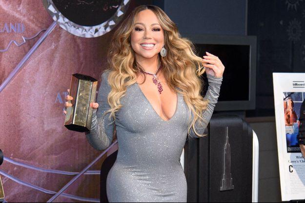 Mariah Carey à New York en décembre 2019