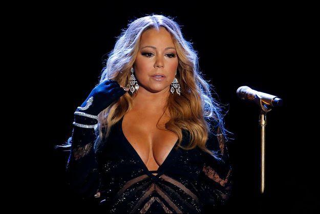 Mariah Carey, le 27 mai 2014 à Monte Carlo.