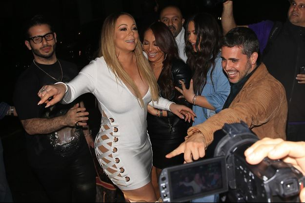 Mariah Carey lors d'une soirée à Los Angeles le 5 mai.