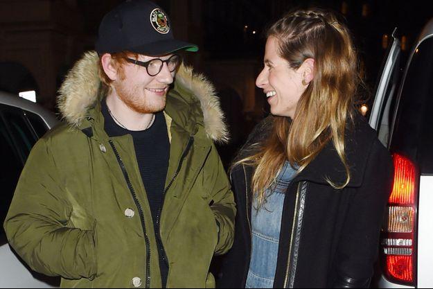 Ed Sheeran et Cherry Seaborn en mars 2017, à Londres.