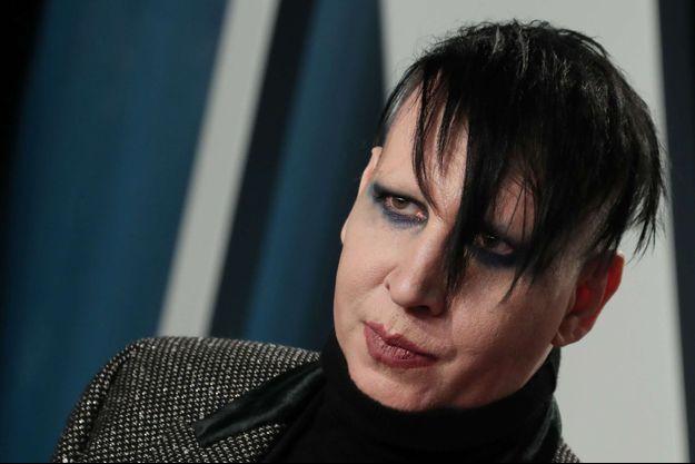 Marilyn Manson en février 2020.